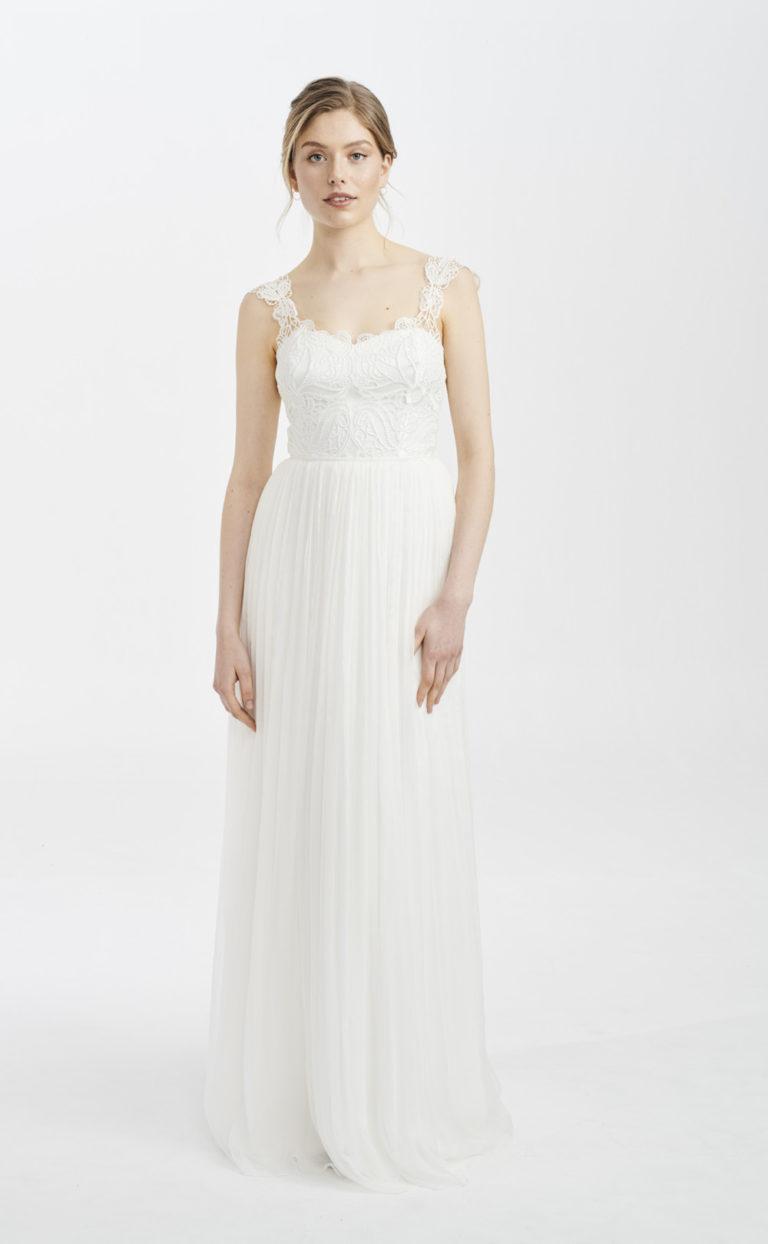 Vintage-Brautkleid mit Makramee-Spitze: Elu