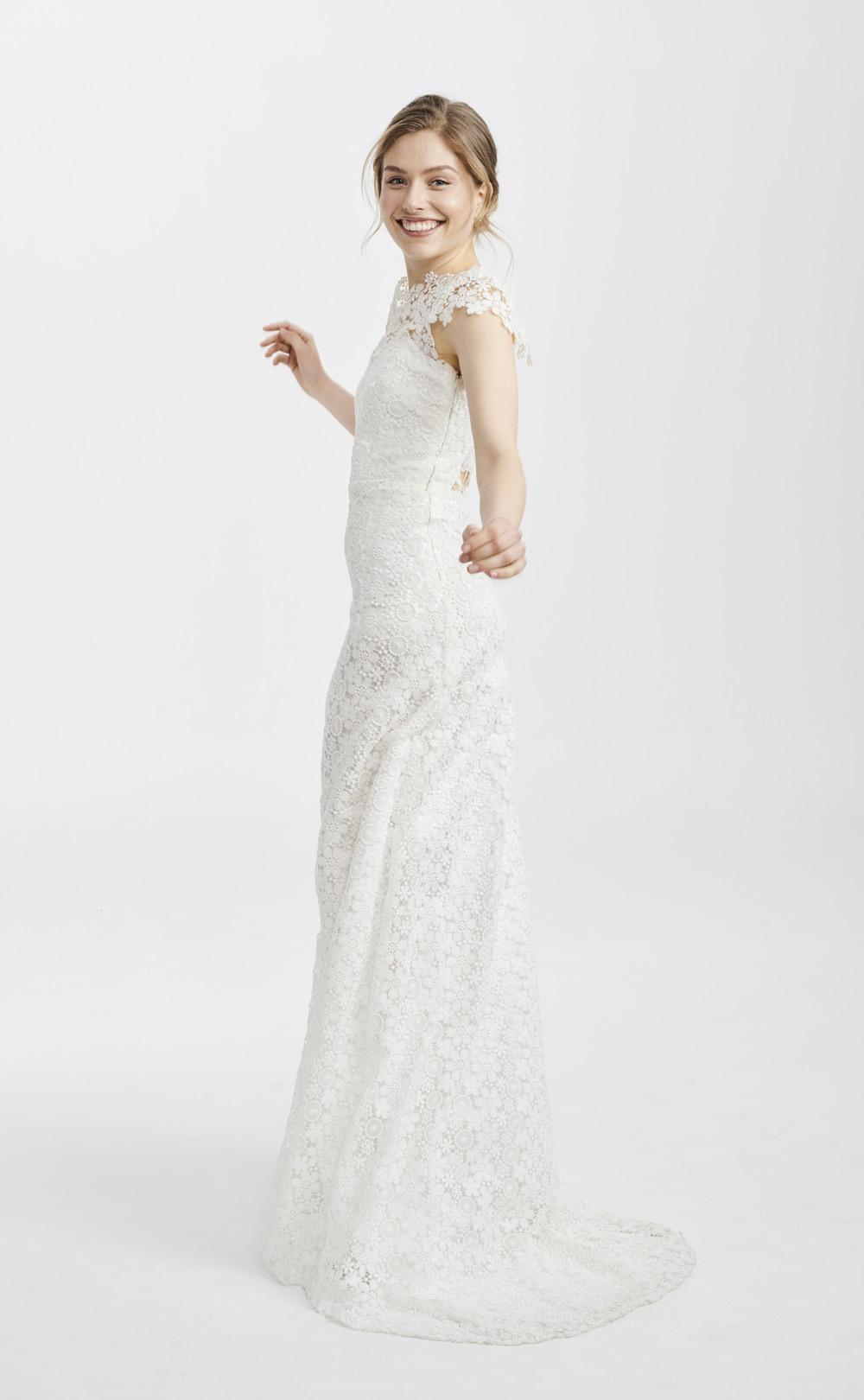 Brautkleid mit grober Spitze: Majana
