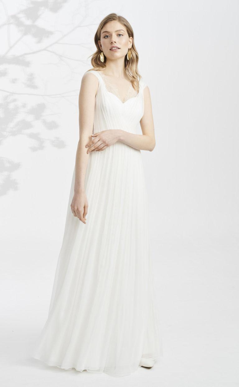 Brautkleid mit tiefem Rückenausschnitt: Nevena