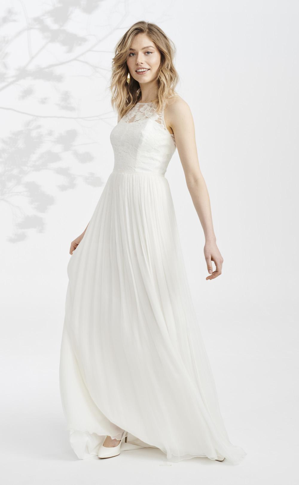 Fließendes Brautkleid: Palea