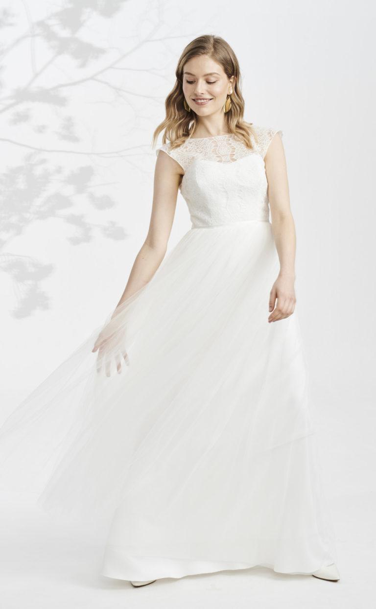 Vintage-Brautkleid mit Spitze: Senia