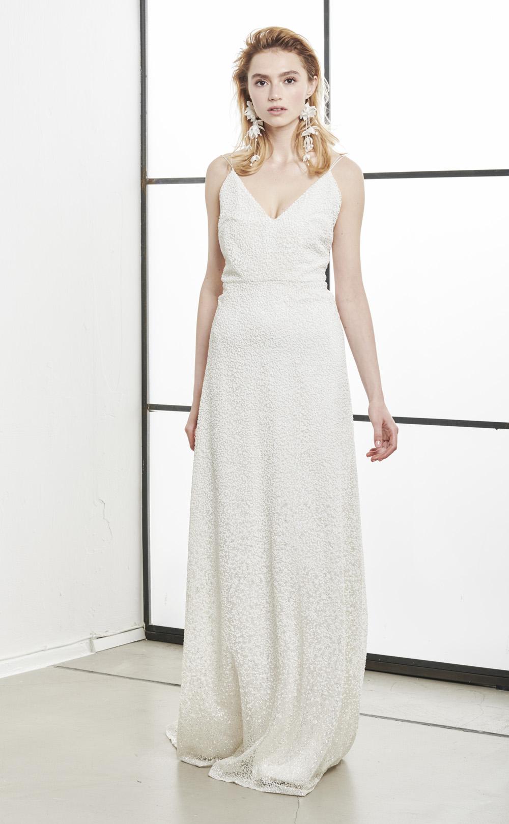 Brautkleid mit Glitzer: Lumi
