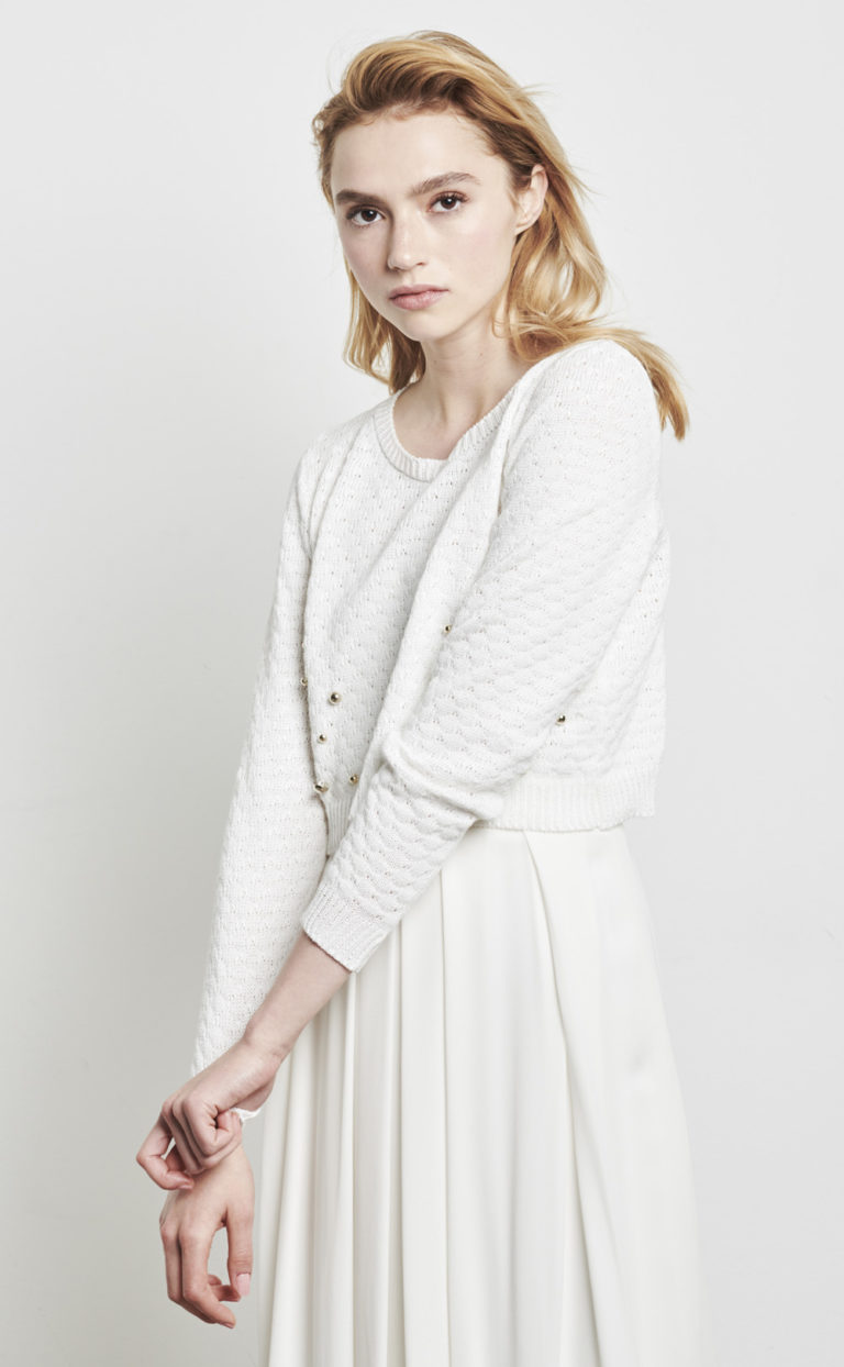 Brautpullover in weiß: Sili