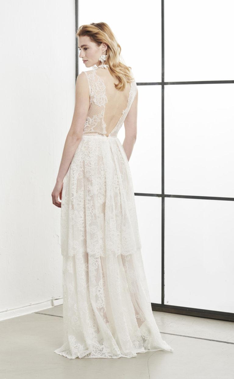 Semi-transparentes Brautkleid: Vjenka