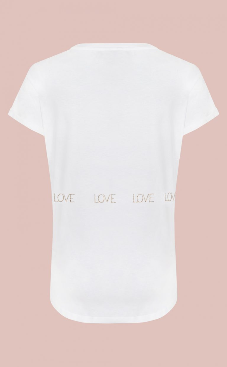 T-shirt Love is all around you