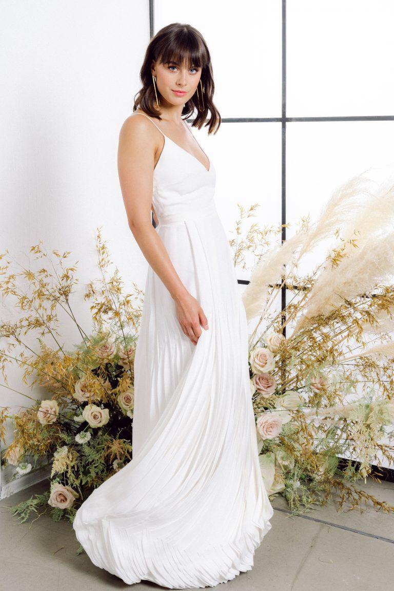 Nachhaltiges Brautkleid: Isis