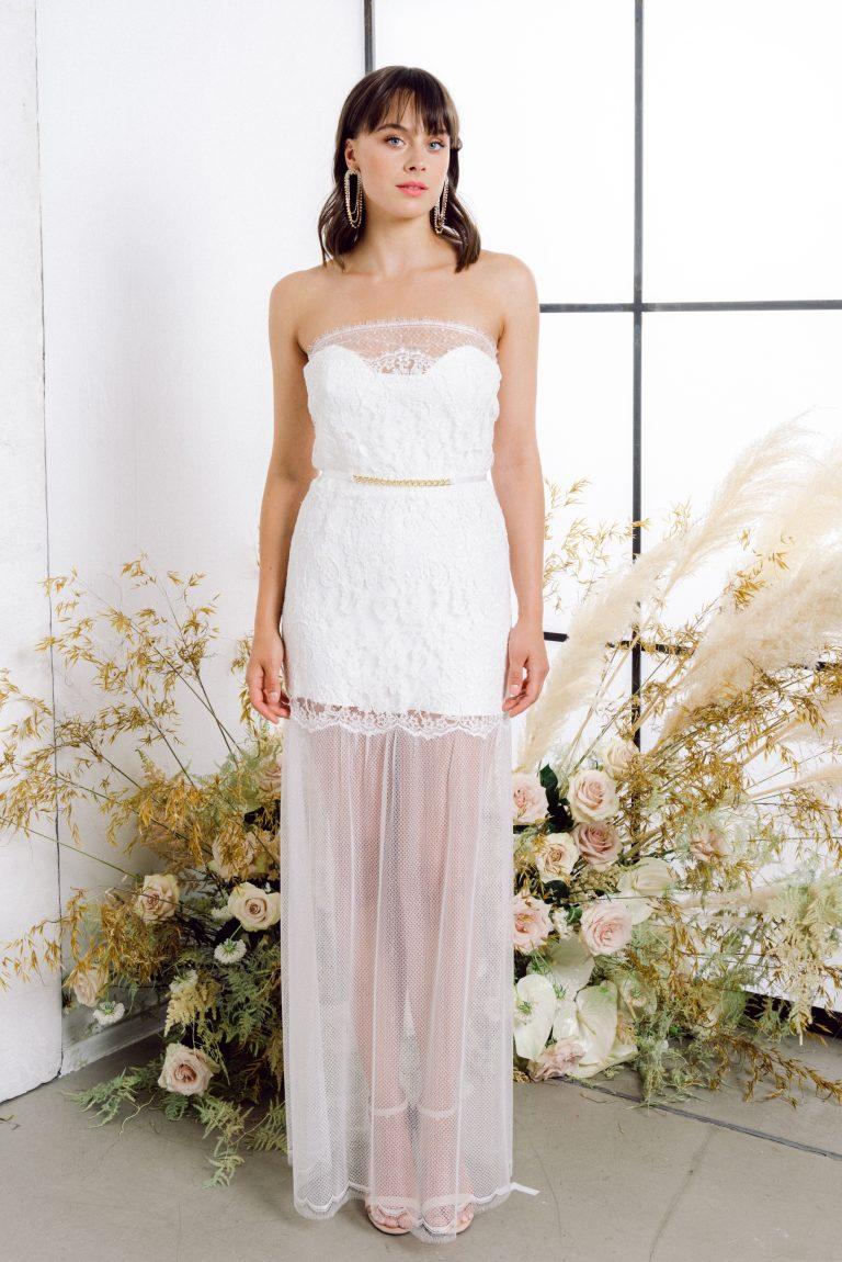 Brautkleid mit Spitze: Sweet Gwendoline