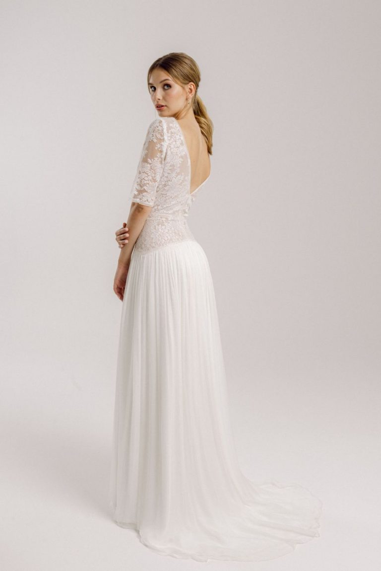 Hochzeitskleid mit Spitze: Amelia
