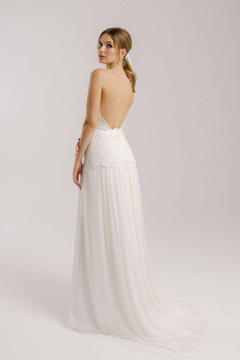 Sommerliches Vintage Brautkleid: Layla