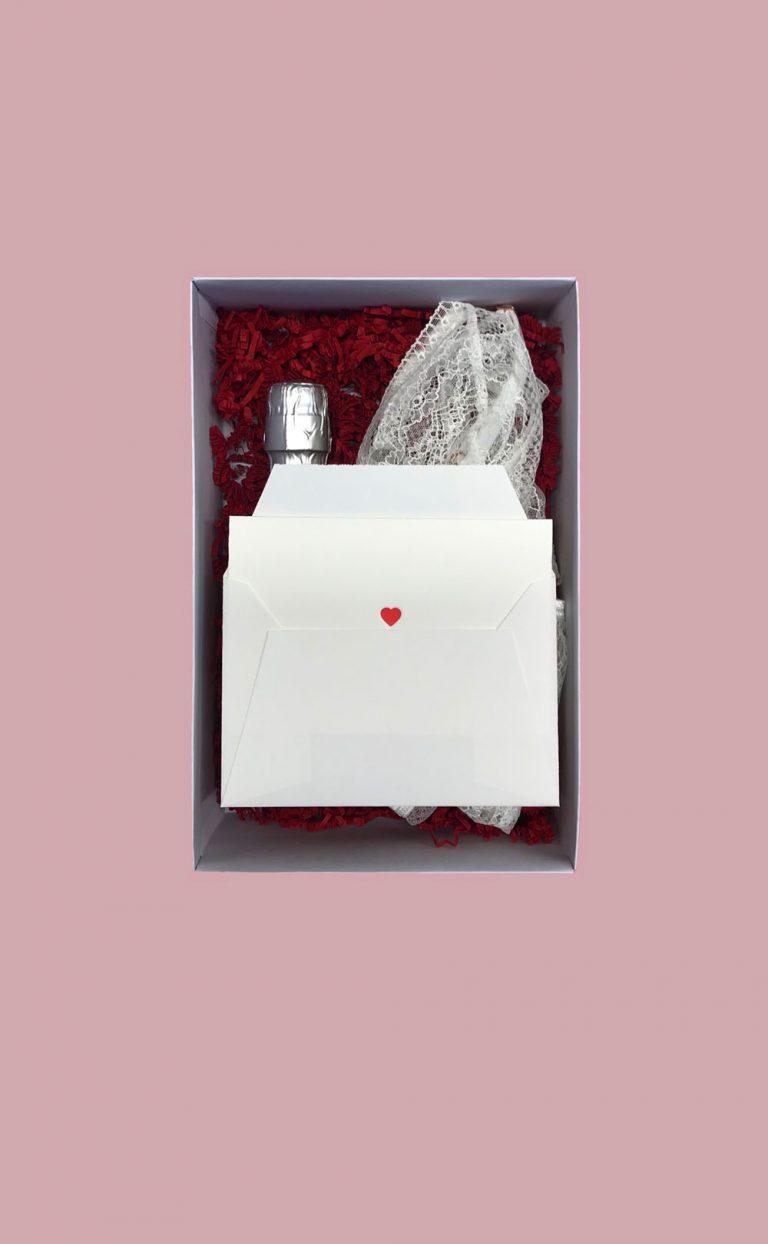 A lovely Valentinsbox – White Sensation