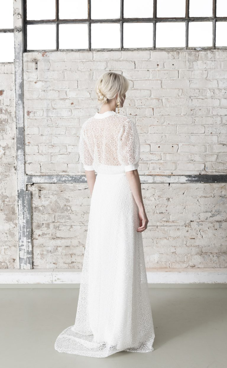 Neema Topper – Bridal Sweater