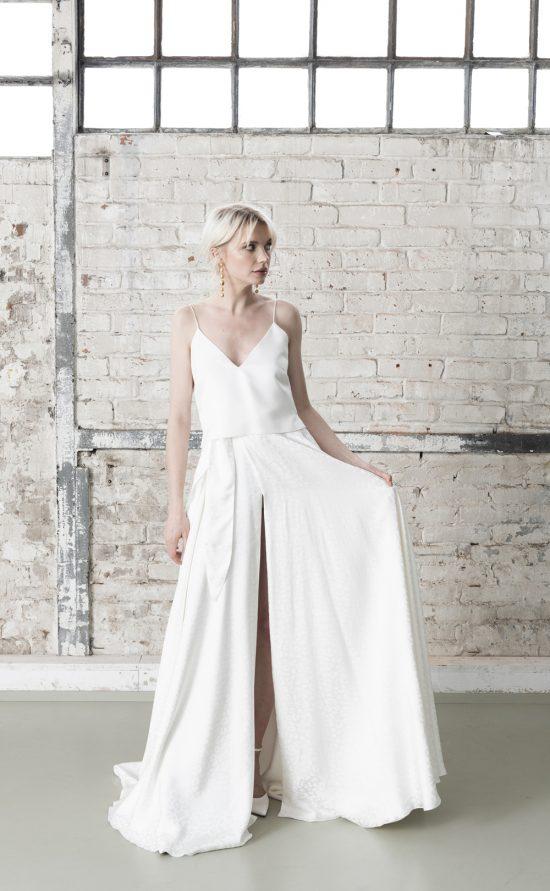 Tansila Top & Tansila Skirt - Moderner Zweiteiler