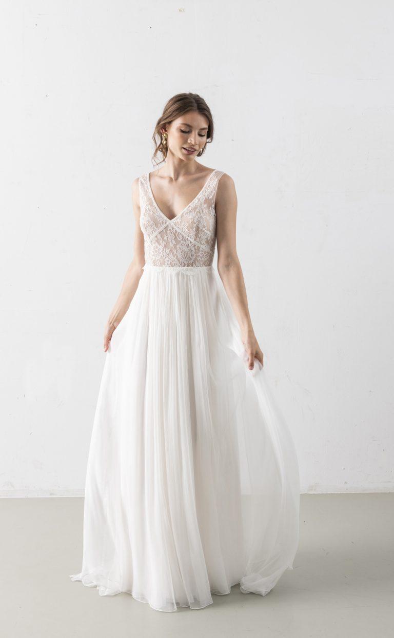 Nilaja – Wedding Dress with lace