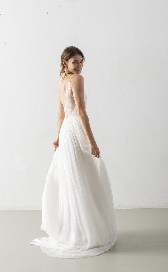 Zolile - Schlichtes Brautkleid
